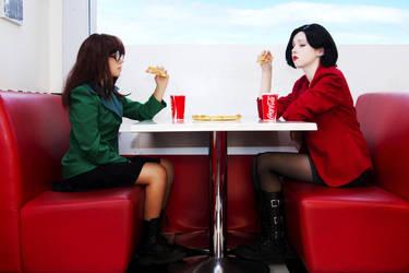 Daria and Jane by SoDespair