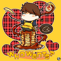 Gee's pancakes by nezumi-zumi