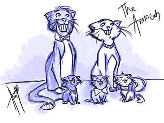 The Aristocats by bbandittt