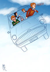 The Flying Car by bbandittt