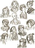Avatar: The Last Airbender by bbandittt