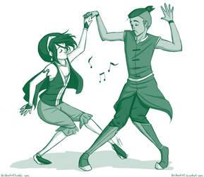 Dancing Tokka by bbandittt