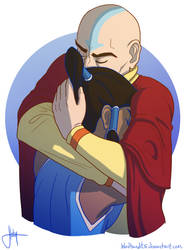 Tenzin And The Avatar pt. 2 by bbandittt