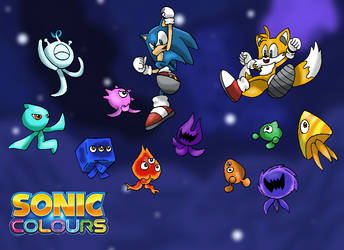 Sonic Colours Wisps 4 by Tails19950