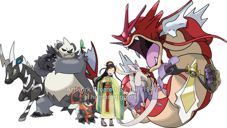 Mulan - Pokemon Team by Tails19950