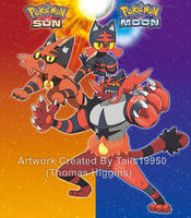 Litten's Evolutionary Family by Tails19950