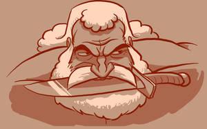 Bearded: Brock Samson by Vanjamrgan