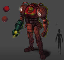 Samus Design by Vanjamrgan