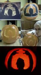 Celldweller Pumpkin Carving by StefaniSuffocation