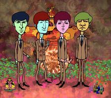 the beatles by gabrio76
