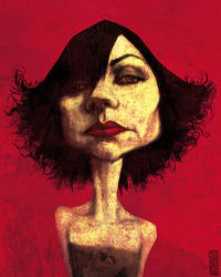 PJ Harvey by gabrio76