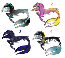 Hippocampus Adoptables by pokebugggirl