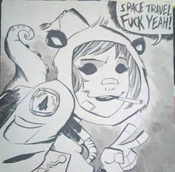 Fuck Yeah Space! by olly-lofi