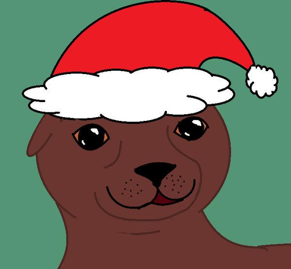 Christmas Seal by PhantomisErik