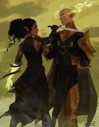 Avira and Solas by nipuni