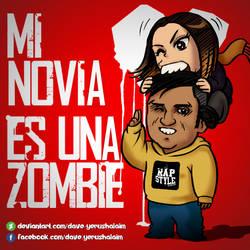 Novia zombie by Dave-Yerushalaim
