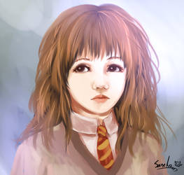 hermione commission by namazuchi