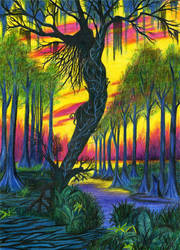 tree lady by asubmarinewinter