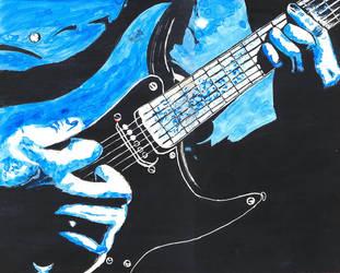 Guitar by asubmarinewinter