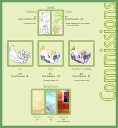 Commissions by ApertureIndigo