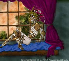 Final Piece: Atemu The Damned by NakuraCalavera