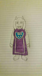 Toriel by pokemaster1296