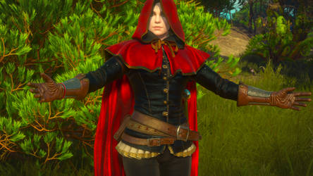 The Witcher 3 - Syanna ''Red Riding Hood'' by RaW-D-Coy