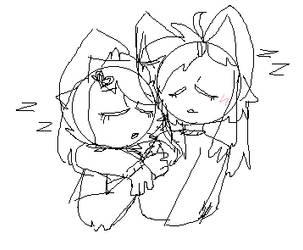 Furby Cuddles by xXR4D4RXx