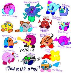 Lemon Demon Kirby by xXR4D4RXx