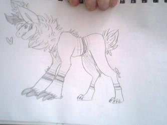 Random creature by xXMaeWrightXx