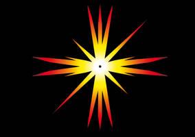 SVG: confusing mind Christmas POLARIS - STAR by marderchen