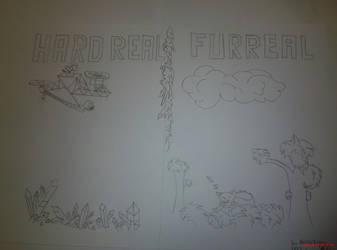pencil DRAW: 2splited reality by marderchen