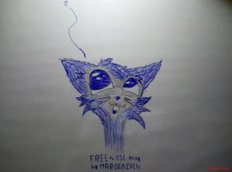 DRAW: FURfurr kitten by marderchen