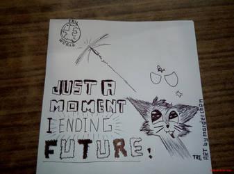 Pencil DRAW: ending FUTURE kitten by marderchen
