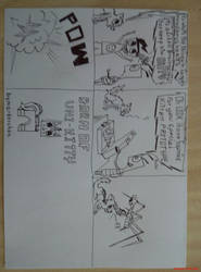 Pencil DRAW: born of UNIKITTY idea :3 by marderchen