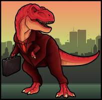 Suitasaurus by CultCreations