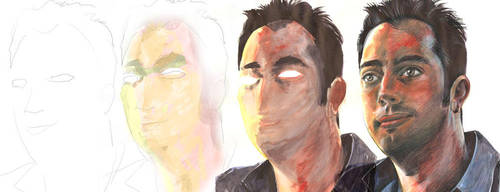 portrait tutorial by sdrmutant