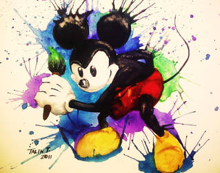 Epic Mickey by Tabbytooner
