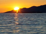 Sunset Sailing by sandrability