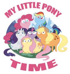 MY LITTLE PONY TIME by lightmega777