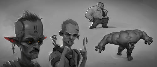 Paintstorm Sketches 04 by JoseConseco
