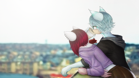 Let's get out of this city by Aritasum