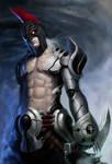 Scion of Cursed Raider by zionenciel