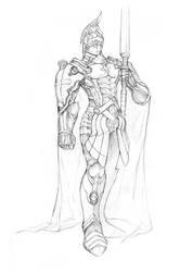 Knight Templar man by zionenciel