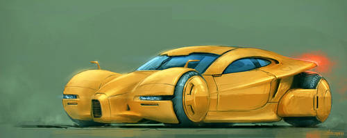 Yellov conceptcar by sergeo-art