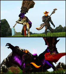 Gore Magala Face Off by MercFox438