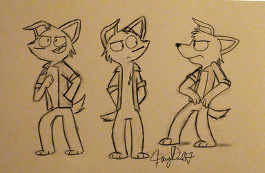 Chad Sketches by Fuzzydice07
