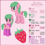 [Commission] Pine Berry Reference Sheet by DJDavid98