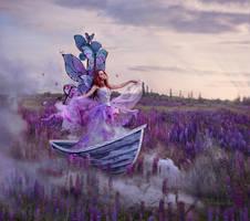 Princess butterfly by chervona