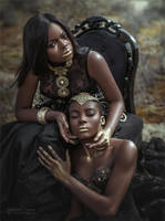 Golden sisters by chervona